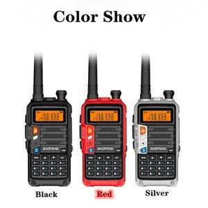 Image 2 - BaoFeng UV 5R Walkie Talkie UV 5R อัพเกรดรุ่น CB วิทยุ Hf Transceiver 8W 10Km UHF VHF walkie Talkies UV 82 UV 9R