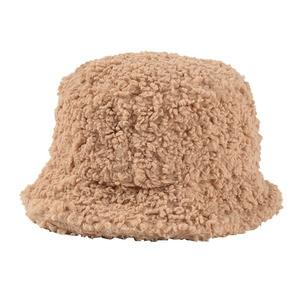 Image 4 - USPOP Winter frauen eimer hüte weiblichen candy farbe lamm haar eimer hüte süße dicke warme hüte