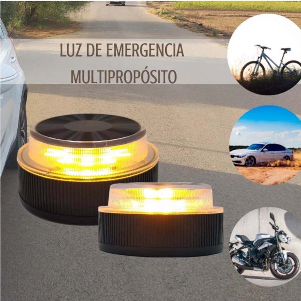 EU V16 Car Beacon Warning Light Emergency Breakdown Kit Lamp Bright LED Roadside Safety Flashing Warning approved by the DGT
