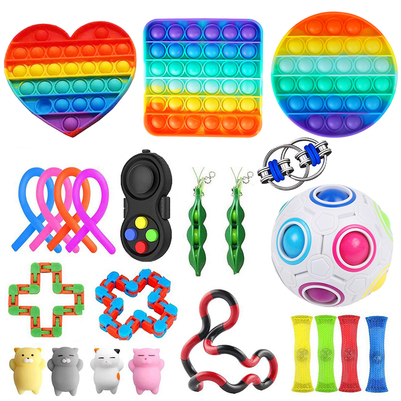 Toy-Set Toys-Pack Figet-Toys Fidget Relief-Gift Anti-Stress Sensory Girl Adults Children img2