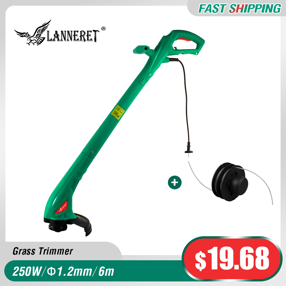 LANNERET Grass-Trimmer Machine-Line Garden-Tools Electric Hand-Cleaner For Brake Disassembly