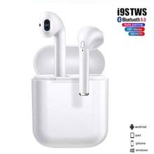 New Upgrade i9sTWS Bluetooth Earphone 5.0 in ear mini Wireless Headsets Bass stereo Earbuds
