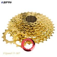 ztto 9 speed cassette 18S 27S Speed Cassette 36T Sprocket  freewheel for sunrace k7 sprocket cassete velocidade