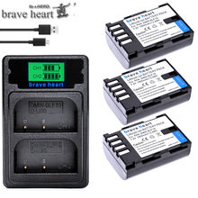 3x1850mAh DMW-BLF19 DMW BLF19 BLF19e dmw-blf19e Batteries Li-ion pour Panasonic Lumix DMC-GH3 DMC GH3 GH4 DMC-GH4 GH5 Caméra