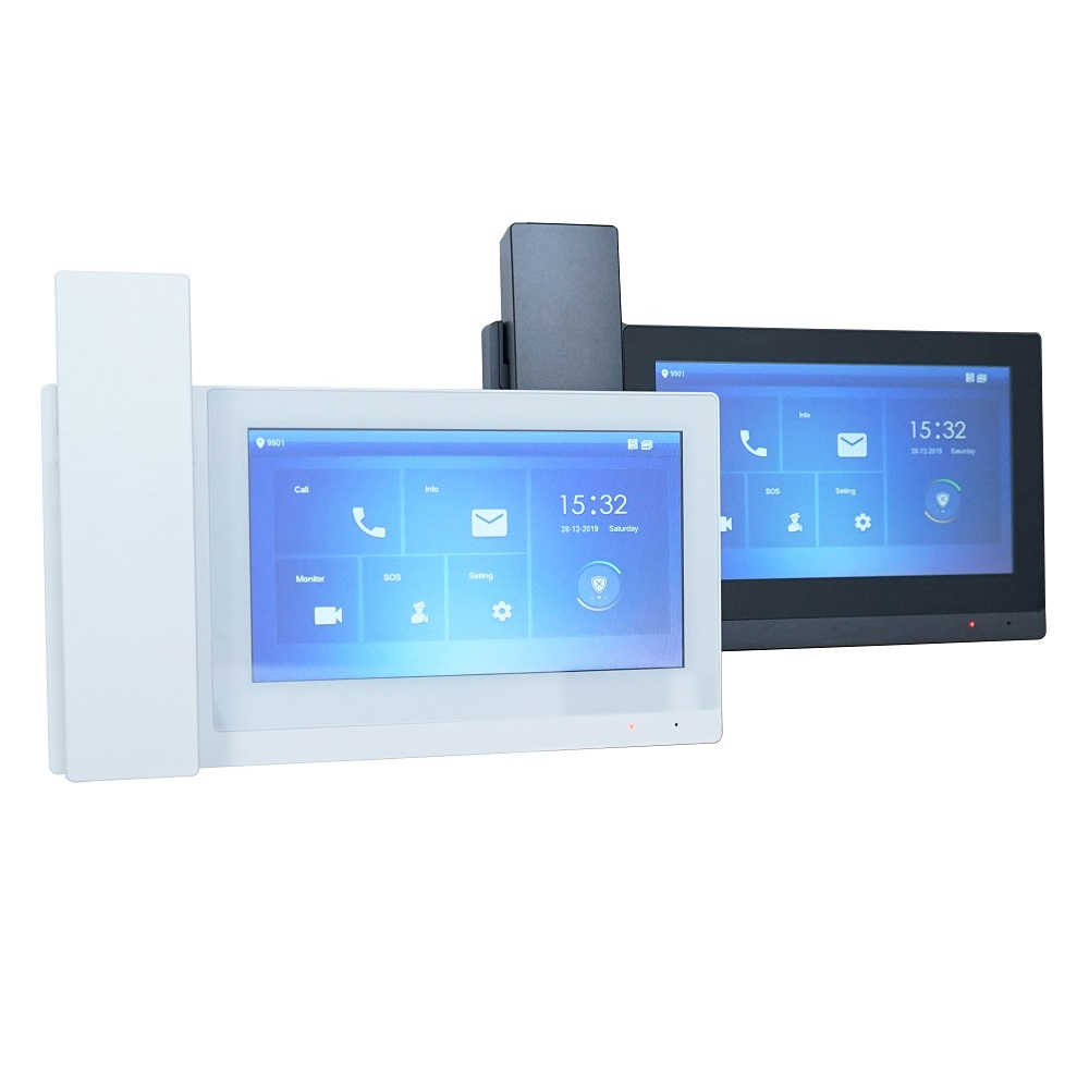 DH Logo VTH5221E/EW-H 7inch Touch Indoor Monitor,IP Doorbell Monitor ,Handheld, Video Intercom Monitor,SIP Firmware Version
