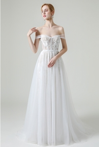 Image 5 - Beach Wedding Dresses Cap Sleeves Bridal Gowns Sweetheart Neckline Lace Vestido De Novia Illusion Mermaid Robe de Mariage