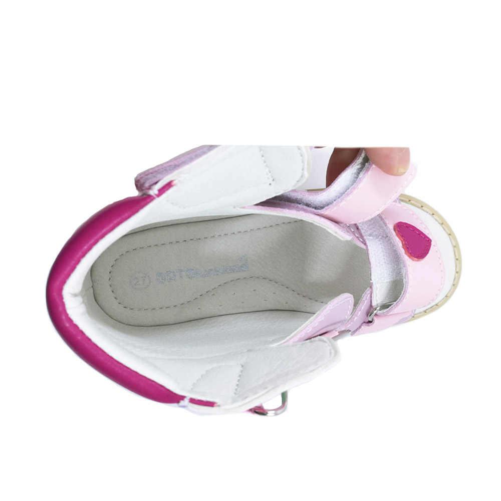 Ortoluckland Scarpe Per Bambini Scarpe Ortopediche Per I Bambini Delle Ragazze di Danza Rosa Open toe Sandali di estate Per i bambini 2020 Scarpe Stile coreano