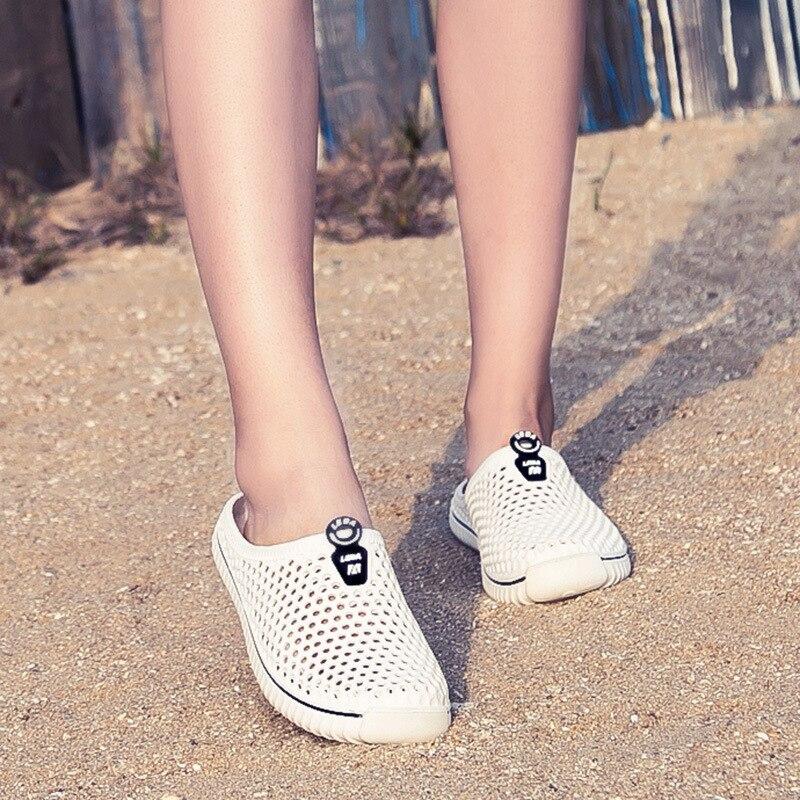2020 Men&Women Waterproof Aqua Sandals Summer Soft Shoes Outdoor Beach Water Shoes Upstream Creek Non-Slip Lightweight Wading 2