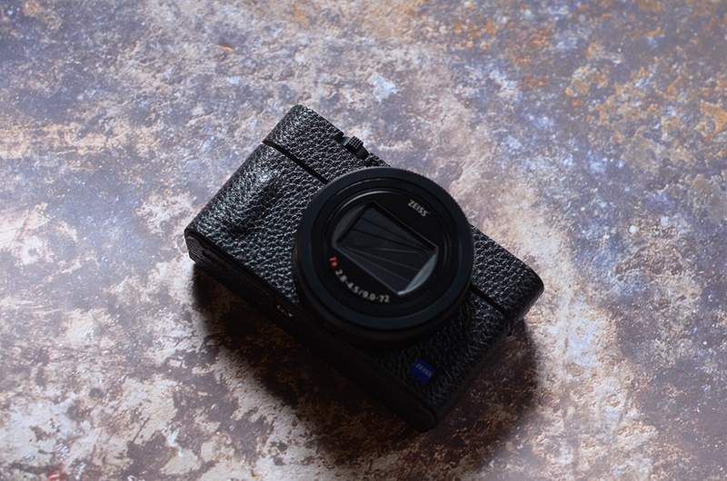 Ee Camera Protective Cover Case Skin Stickers Texture Non-slip Genuine Leathe For Sony RX100 III IV V  M3 M4 M5 M6 M7