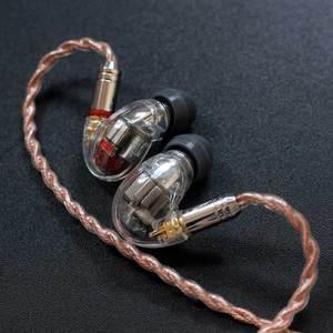 Image 5 - DIY SE846 Kulak Kulaklık 5BA Dengeli Armatür 10 Sürücü Birimleri HIFI Stereo Spor Gürültü Iptal Kulaklık Kablosu