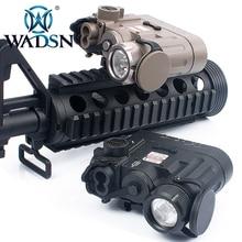WADSN Airsoft DBAL D2 çok fonksiyonlu IR Lazer kırmızı Lazer taktik el feneri 300 lümen LED DBAL pil kutusu WEX328 silah ışıkları