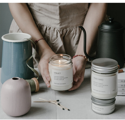 Diy Aromatherapy Candle Making Container Homemade Aromatherapy Candle White Candle Jar Niche Candle Cup Jar Glass Bottle