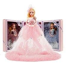 40 см Свадебная кукла девочка танцевальная кукла набор принцессы бара свадебное платье украшение гуманоидная кукла для девочек подарок на д...