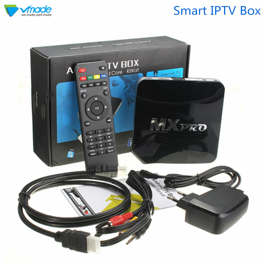 Vmade Original Mini TV Box Amlogic S905X Quad Core Android 6.0 Ultra HD 4K H.265 1G 8G WIFI Google TV Netflix IPTV Set-Top Box
