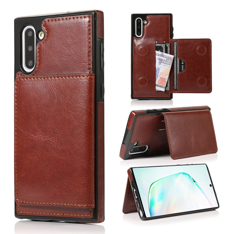 Note 9 High Grade Luxury For Samsung Galaxy Note 10 Note 10 Plus Case With Card Slot Support Note 8 Phone Cover
