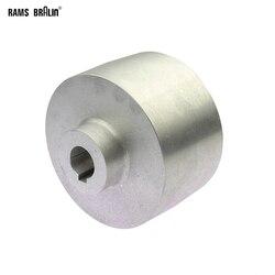 120*70*20*24/19mm Backstand Speelwiel met 8*3mm spiebaan Volledig aluminium Contact Wiel