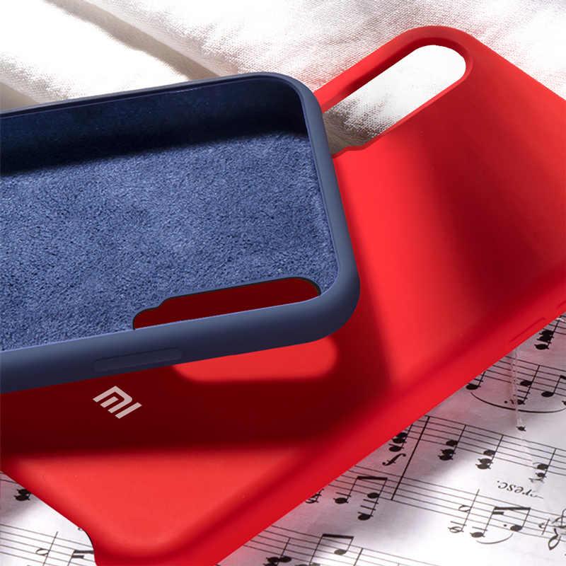 Xiaomi mi A3 funda roja mi Note 8 Pro 7 5 7A funda blanda de silicona líquida Xiaomi mi 9T 9 8 SE mi x 3 A2 Lite 6 6X CC9 CC9E