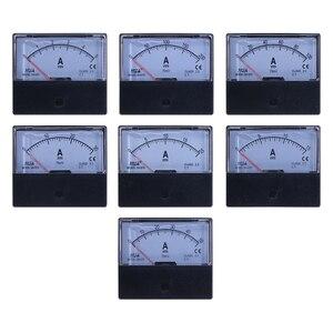 DH-670 DC Analógica Atual Medidor de Painel 3A 5A 10A 15A 20A 30A 50A 100A 200A 300A 500A Tipo de Ponteiro do Painel Amp Amperímetro Medidor de Corrente