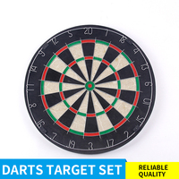 18 Inch Professional Dartboard Stand Dart Board Set Dart Target Board With 6 Darts Indoor Training Home Family /Office Game HOT
