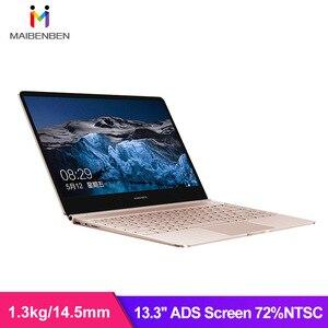MAIBENBEN Laptop JinMai 6Pro 13.3 Cal 1920*1080P reklamy Intel Gemini Lake N4100 8G RAM 240 SSD DOS nauka online