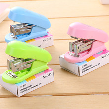Binder-Book Stapler-Set Paper-Clip Binding School-Supplies Staionery Office Colorful