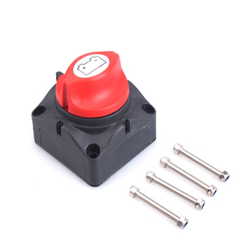 100A-300A 12V-60V Car Auto RV Marine Boat Battery Selector Isolator Disconnect Rotary Switch Cut image