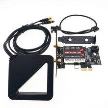 С внешней антенной, набор микросхем Intel 9260 AC 9260AC 9260NGW, MU MIMO Bluetooth 5,0 1730 Мбит/с, PCI E PCIe 1x X1, настольная карта