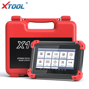 X100 PAD OBD2 Auto Key Programmer Diagnostic Scanner Automotive Code Reader IMMO EPB DPF BMS Reset Odometer EEPROM Update online image