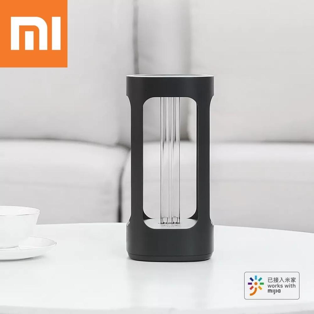 Интеллектуальная дезинфекционная лампа Xiaomi FIVE бактерицидный свет UVC стерилизация интеллектуальный датчик человеческого тела управление приложением Mijia Детали инструментов      АлиЭкспресс