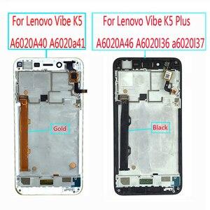 Image 2 - لينوفو فيبي K5 A6020A40 A6020a41 LCD عرض تعمل باللمس محول الأرقام الجمعية لينوفو K5 زائد A6020A46 A6020l36 a6020l37