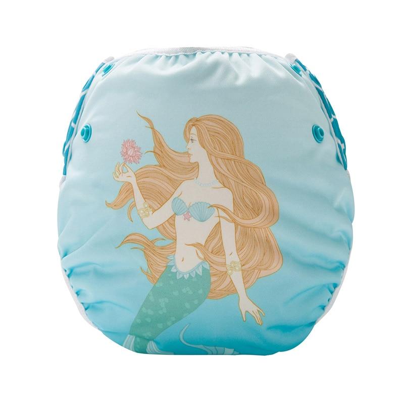 All In One Cotton Cloth Swimming Diaper Reusable Baby Swim Diaper Nappy SM-DY9