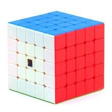 Meilong MFJS 5X5 5X5X5 Jiaoshi Mofang Moyu Stickerless cubo de velocidade cubo Mágico