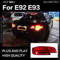 Auto Styling für BMW E92 LED Schwanz Licht 2006-2012 E93 325i 330i Coupe Schwanz Lampe DRL Blinker Bremslicht reverse auto Zubehör