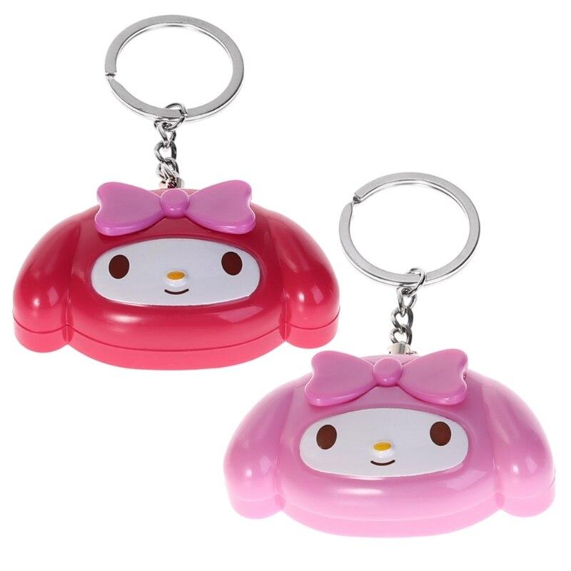 Mini Self Defense Keychain Alarm Super Loud Personal Security Emergency Keyring