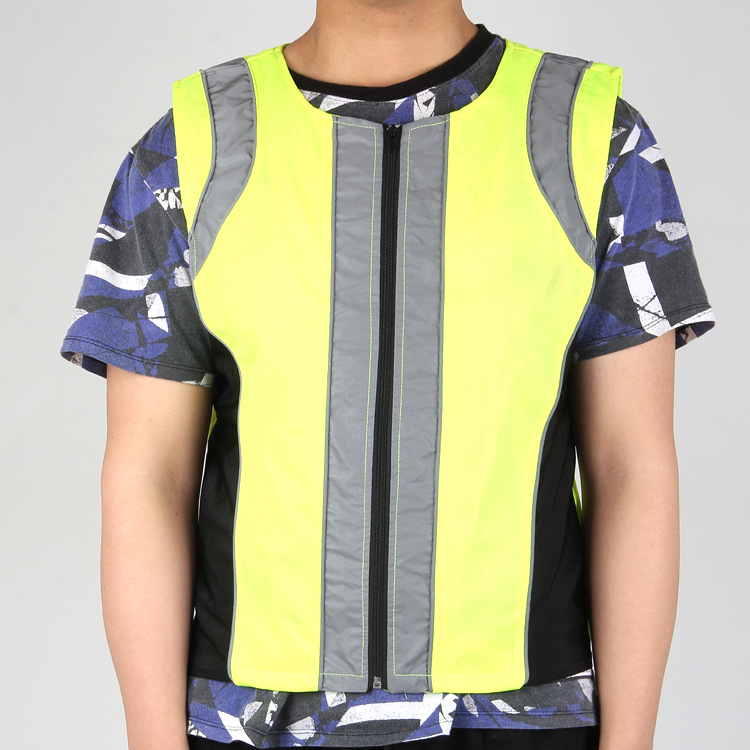 Manufacturers Direct Selling Fluorescent Vest Waistcoat Traffic Riding Reflective Vest Construction Safe Breathable Reflective C
