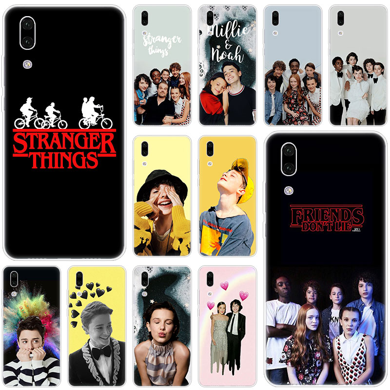 Hot <font><b>Stranger</b></font> <font><b>Things</b></font> Silicone <font><b>Phone</b></font> <font><b>Case</b></font> for <font><b>Huawei</b></font> P30 <font><b>P20</b></font> Pro P10 P9 P8 <font><b>Lite</b></font> 2017 P Smart Z Plus 2019 NOVA 3 3i 5i 5 5Pro Cover image