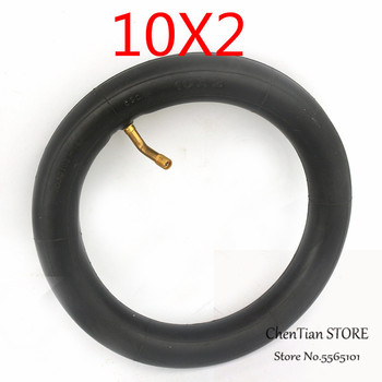 Electric Scooter Tire 10 Inch Inner Tube Camera 10x2 for Xiaomi Mijia M365 Spin Bird10 inch Electric Skateboard 10inch 10x2 125 electric scooter balancing hoverboard self smart balance tire 10 inch tyre with inner tube