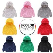 Толстовки для маленьких мальчиков и девочек; хлопковые детские толстовки с капюшоном; детская одежда; толстовки с длинными рукавами; спортивная одежда для малышей; детская толстовка с капюшоном