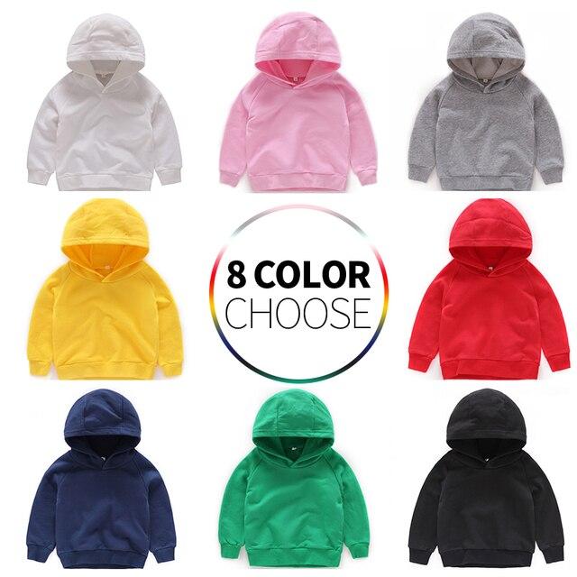 Kids Hoodies for Girls Children's Sweatshirt Child  Sportswear