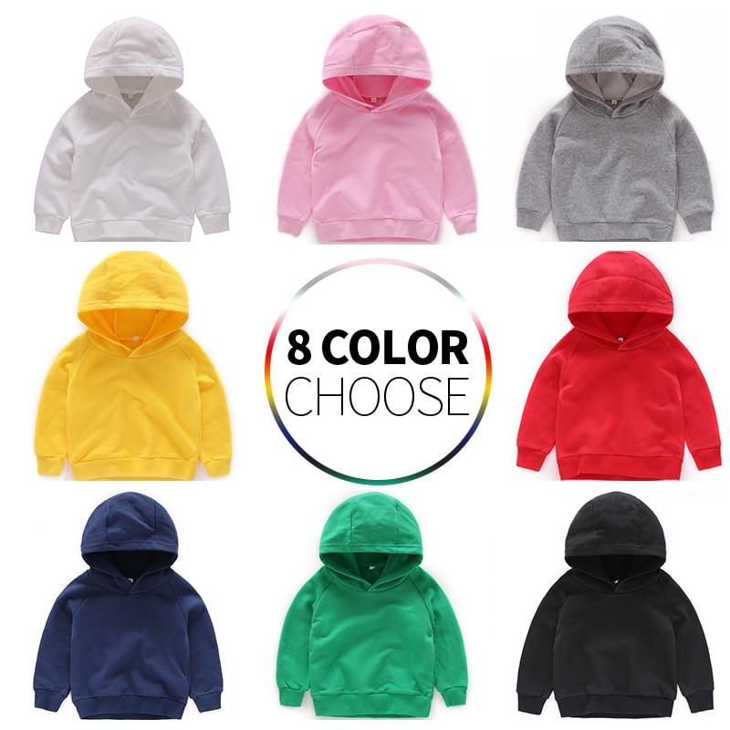 Kids Hoodies For Girls Children's Sweatshirt Boys Boy Baby Hoodie Children Cotton Clothes Clothing Toddler Child  Sportswear