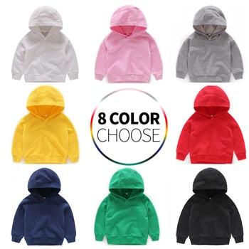 Kids Hoodies for Girls Children's Sweatshirt Boys Boy Baby Hoodie Children Cotton Clothes Clothing Toddler Child  Sportswear цена 2017