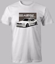 2019 summer style Brand Print Tee Shirts Man Short Sleeve T-shirt W126 560SEC car fans KOENIG SPECIALS CUSTOM PRINT T shirt shop
