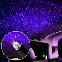 New Car Roof Star Night Lights Interior decorative Light USB LED Laser projector Atmosphere light Adjustable sky Lighting effect