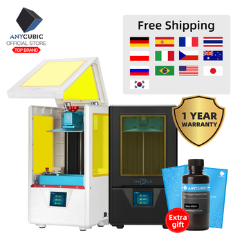 Free Shipping ANYCUBIC 3D Printer Photon-S Quick Slice Matrix UV Light 405nm Dual Z axis SLA  3d Printer PhotonS Upgraded Module 1