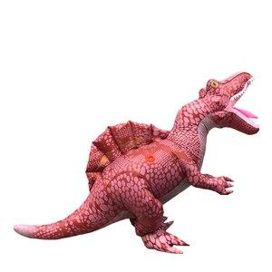 Image 3 - Volwassen Dinosaurus Jumpsuit Halloween Cosplay Spinosaurus Kostuum Carnaval Party Rollenspel Disfraz T Rex Kinderen Romper
