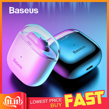 Baseus A03 Business Bluetooth auricular Mini portátil de una sola TWS auricular inalámbrico con micrófono para xiaomi iPhone Huawei conducción de coche