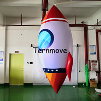 free air shipping advertisement inflatable rocket, wholesale giant rocket Inflatable Missile, Rocket Inflatable For Exhibition