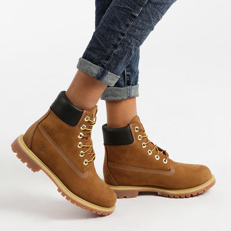 Timberland Boots woman premium 6 inch Brown image