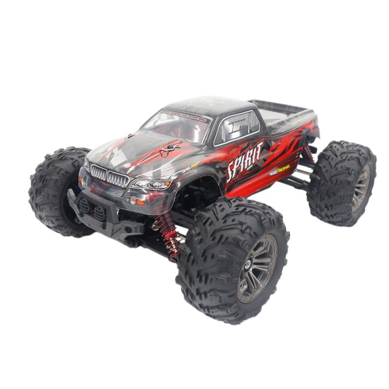 Q901 1/16 2.4G 4Wd 52Km/H High Speed Rc Cars Brushless Remote Control Car & Led Light Rtr Toys