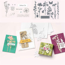 Flower Metal Cutting Dies and Stamps Stencil Templates for Diy Scrapbooking Album Paper Card Making Embossing Dies New 2021